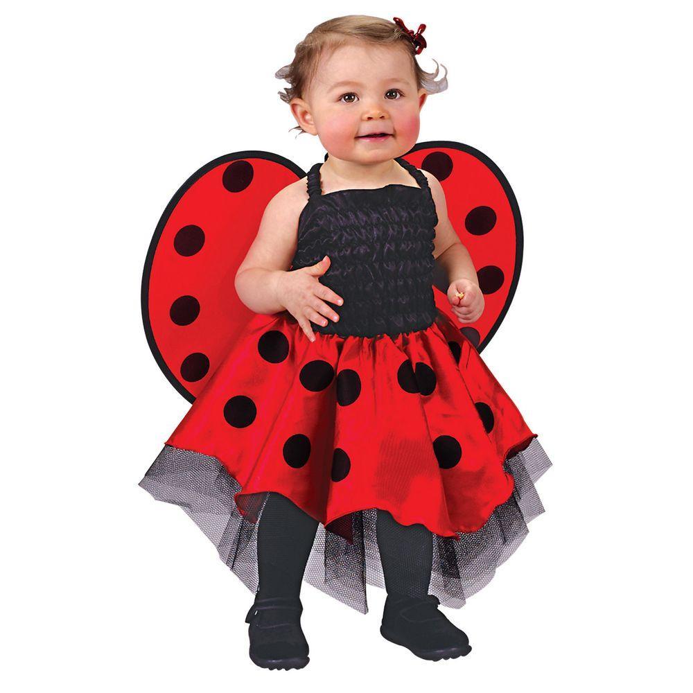 fun world lady bug newborn infant costume