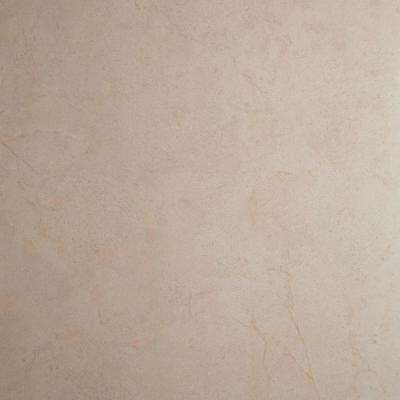 Crema Piedra 24 in. x 24 in. Glazed Polished Porcelain Floor and Wall Tile (16 sq. ft. / case)