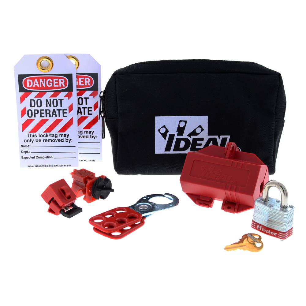 ideal starter lockouttagout kit - Lock Out Tag Out Kits