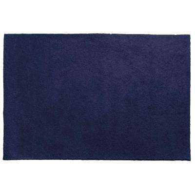 OurSpace Navy 8 ft. x 10 ft. Bright Accent Rug