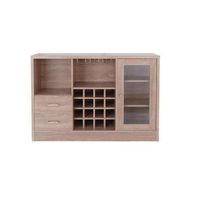 Joice Rustic Oak Server