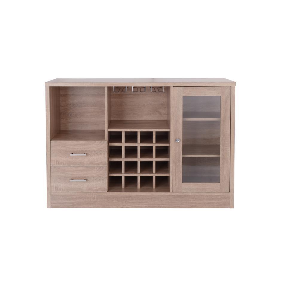 ACME Furniture Joice Rustic Oak Server 72635