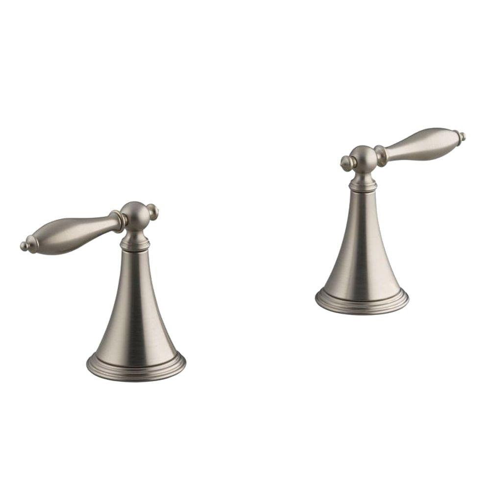 KOHLER Finial 2-Handle Deck-Mount Roman Tub Faucet in Vibrant ...