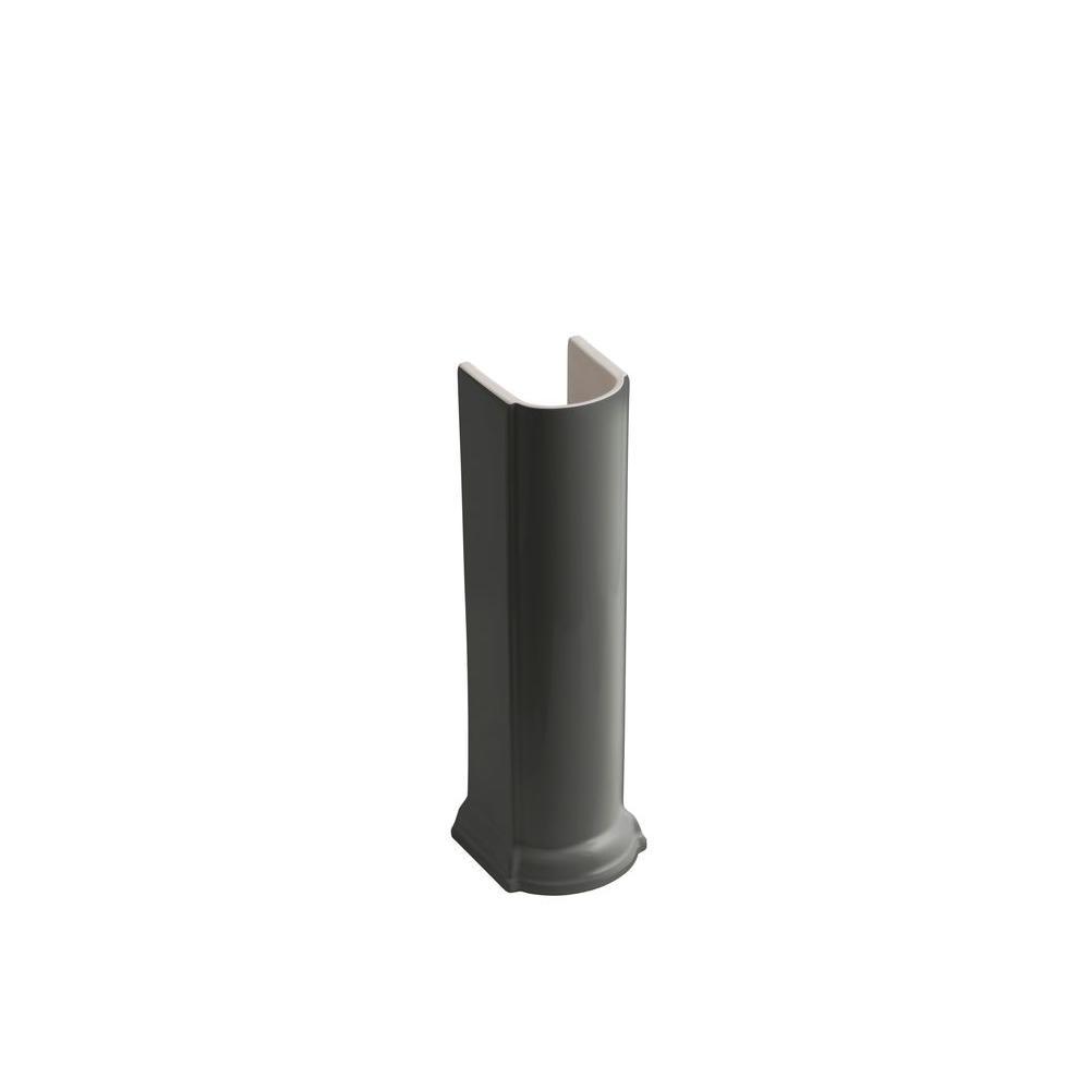 KOHLER Devonshire Pedestal in Thunder Grey