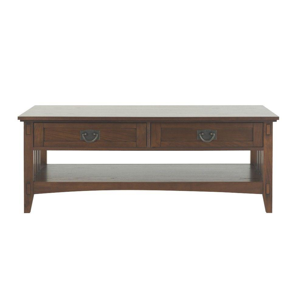 Artisan Dark Oak Coffee Table