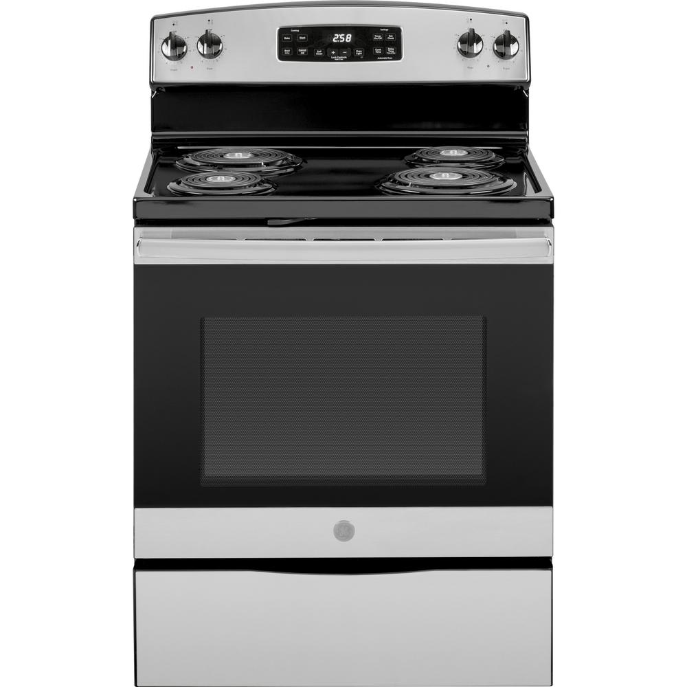 Ge 30 In 5 3 Cu Ft Electric Range