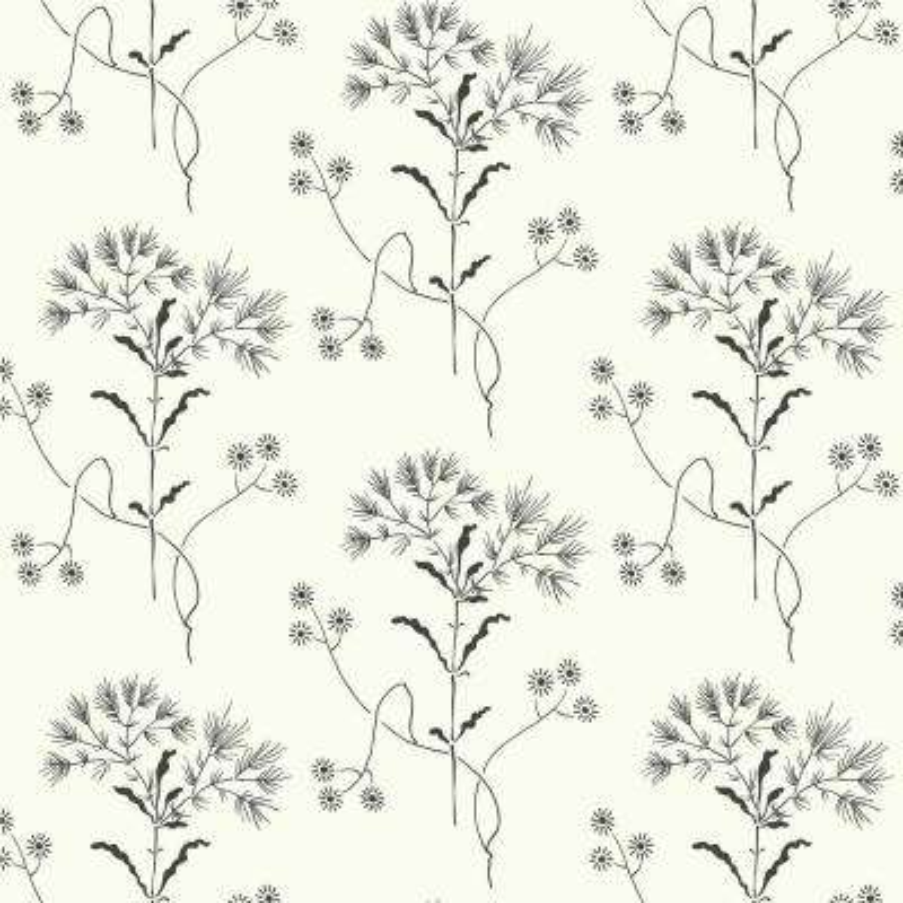 56 sq.ft. Wildflower Wallpaper