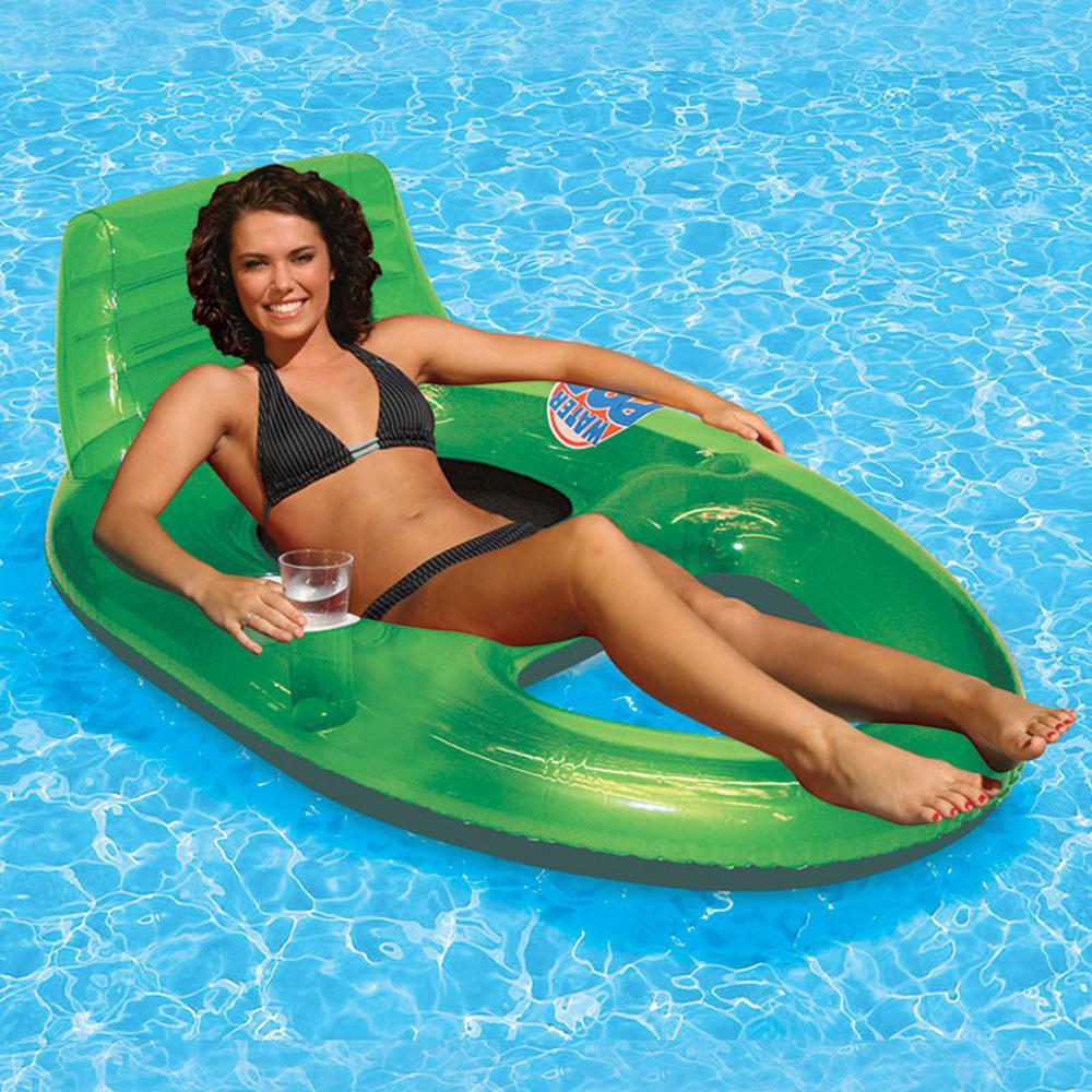 Water Pop Green Pool Deluxe Lounge