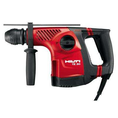 120-Volt 8.6 Amp Corded 1-1/8 in. SDS Plus TE 30 AVR Rotary Hammer Drill with TE-CX Drill Bit and DRS-D Kit