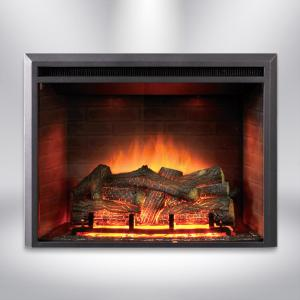 Dynasty Fireplaces 35 In Led Electric Fireplace Insert In