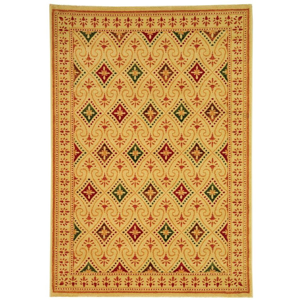 Safavieh Porcello Assorted 5 ft. 3 in. x 7 ft. 7 in. Area Rug