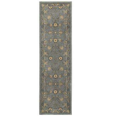 Grace Gray 2 ft. x 7 ft. Plush Indoor Runner Rug