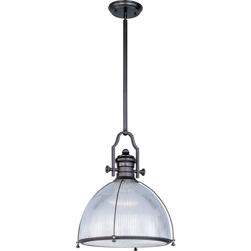 maxim lighting hi bay single pendant 25004clbz the home depot