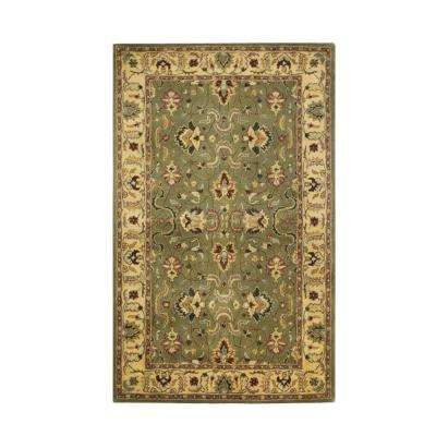 Rochelle Green 5 ft. x 8 ft. Area Rug