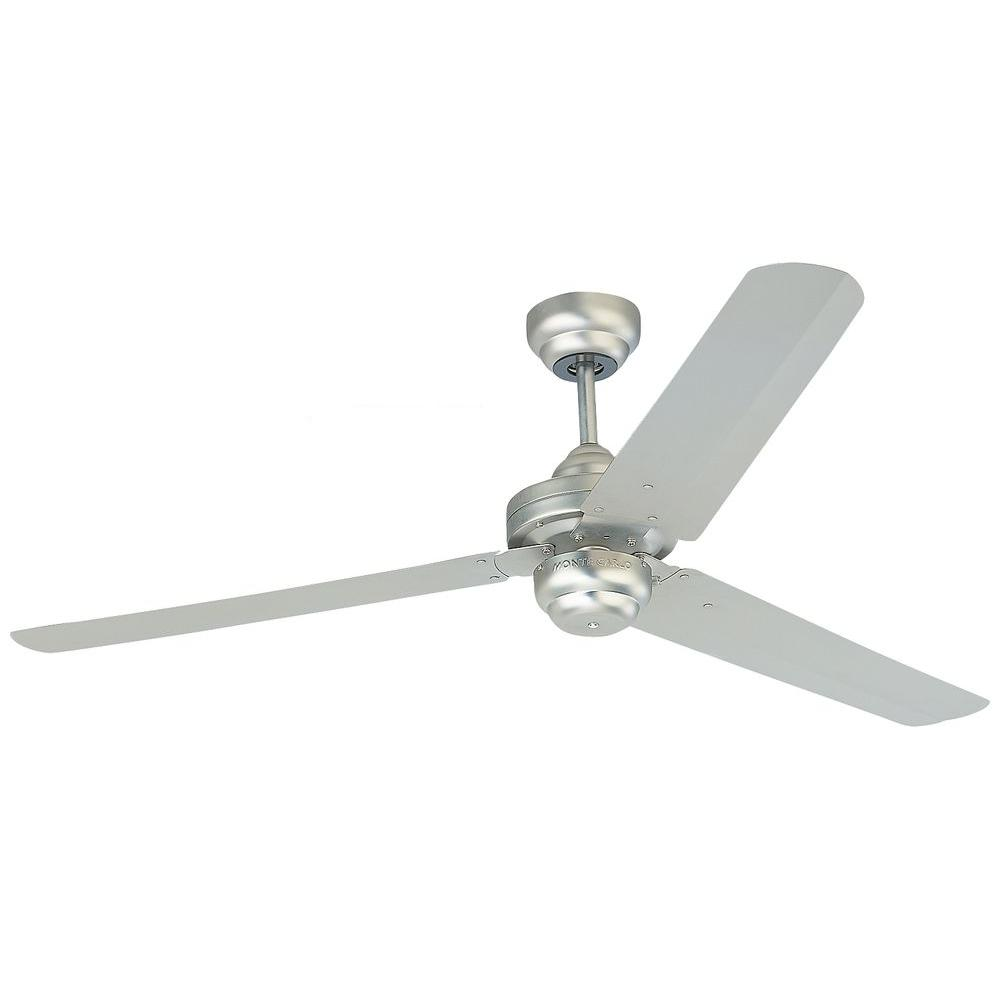 Studio 54 in. Brushed Pewter Ceiling Fan