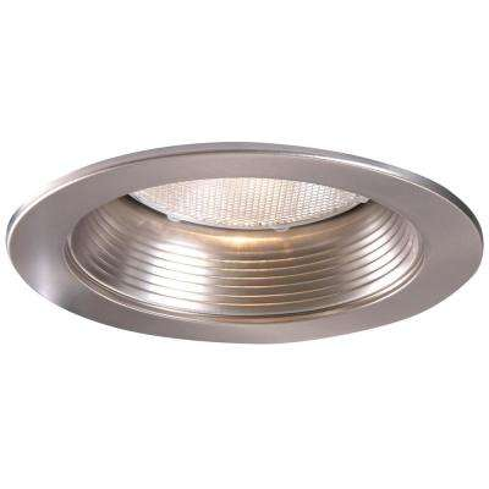 5001 Series 5 in. Satin Nickel Recessed Ceiling Light Baffle