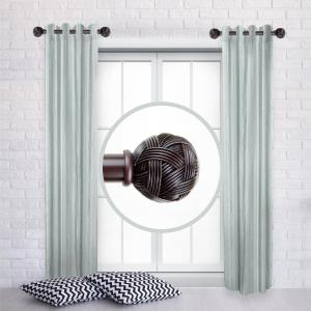 Rod Desyne Twine Double Curtain Rod