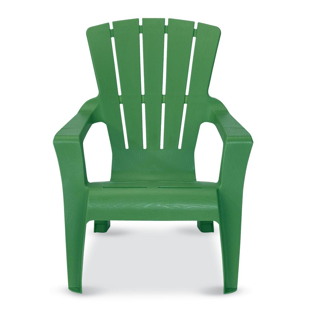 US Leisure Fern Plastic Adirondack Chair-153853