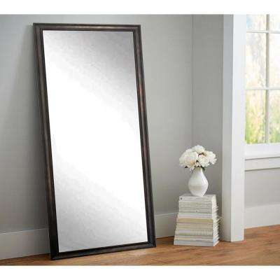 Urban Clouded Bronze Tall Framed Mirror