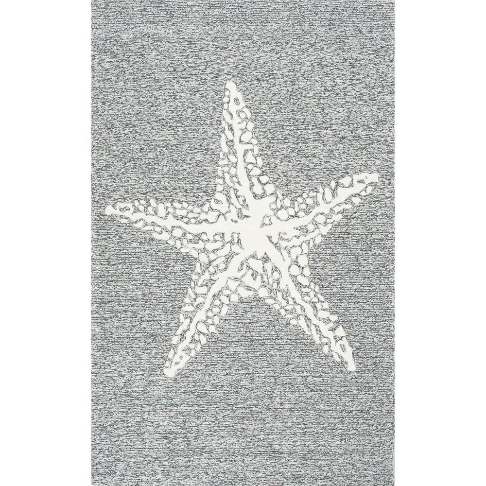 Nuloom Marine Grey 8 Ft X 10 Indoor Outdoor Area Rug