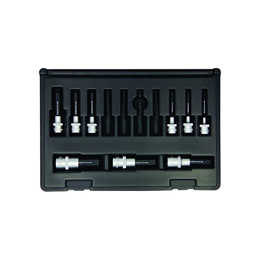 Metric Hex End Sockets and Bits Tool Set with ProGuard with