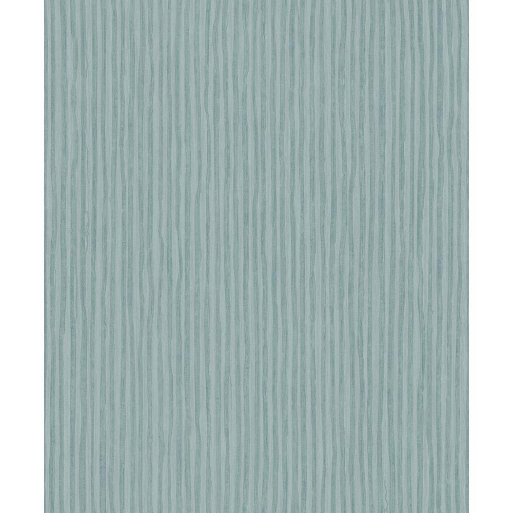 Teal Blue Stripes Wallpaper