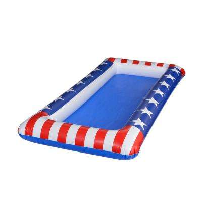4.5 in. x 24 in. x 48 in. Patriotic Inflatable Cooler