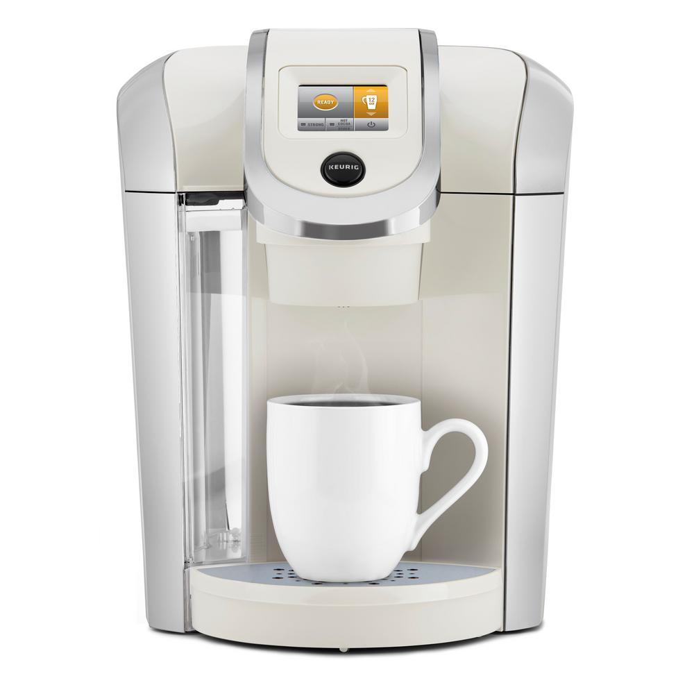 KEURIG K425 Plus Single Serve Coffee Maker, Sandy Pearl
