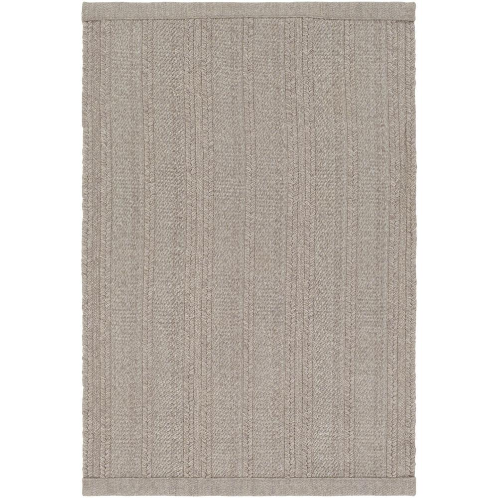 Alicia Taupe (Brown) 2 ft. x 3 ft. Indoor/Outdoor Area Rug