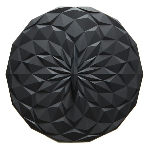 GIR Round 12.5 in. Suction Lid in Black GIRLD1111BLK