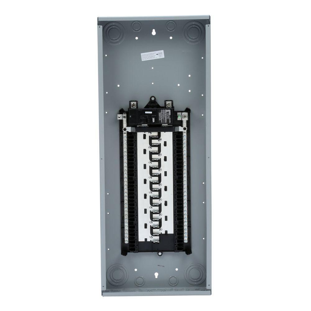 ES Series 200 Amp 30-Space 60-Circuit Main Breaker WireGuide Load Center