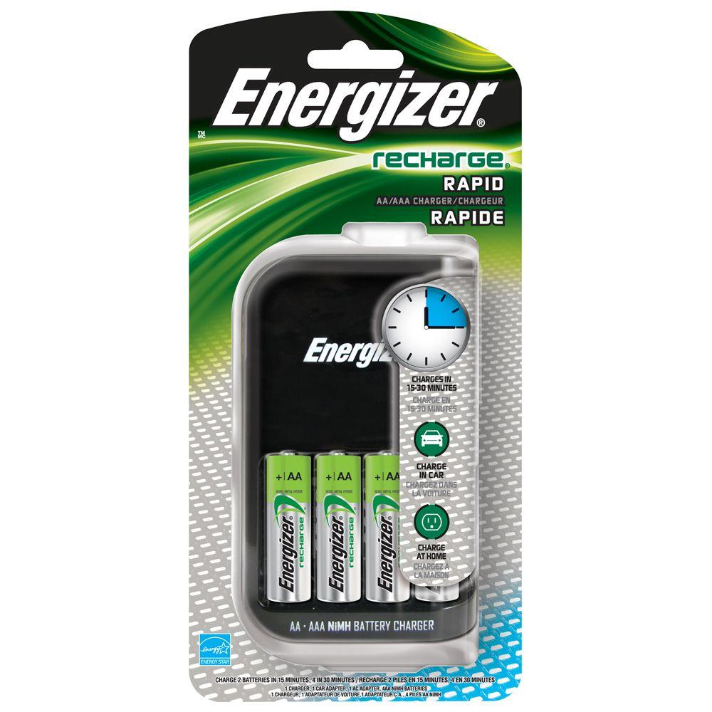 Energizer 4AA Rapid Charger