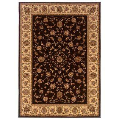 Kurdamir Rockland Brown 7 ft. 10 in. x 10 ft. 10 in. Area Rug