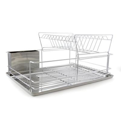 4-Piece 18.5 in. Dish Drying Rack Set