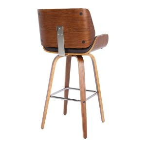 Admirable Armen Living Tyler 26 In Brown Swivel Bar Stool Caraccident5 Cool Chair Designs And Ideas Caraccident5Info