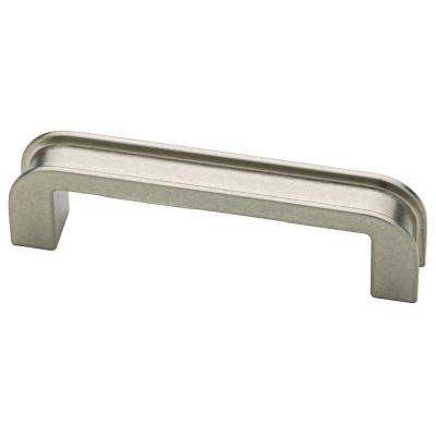3 in. (76mm) Bedford Nickel Groove Cabinet Pull