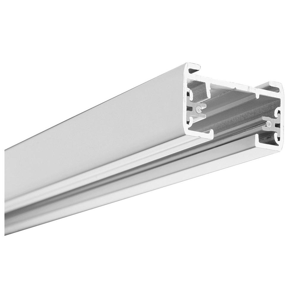 LITHONIA LIGHTING 8 ft. White Linear Track Lighting Section