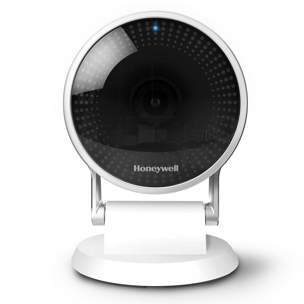 Honeywell Wired Indoor Wi-Fi Security Standard Surveillance Camera Intelligent Audio Detection 24-Hour Cloud Storage and SD Card