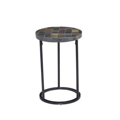 Laguna Black End Table