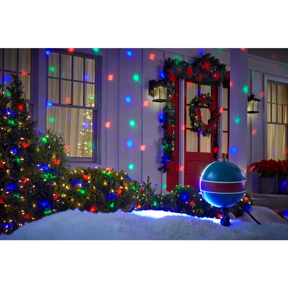 Hologram Christmas Tree Projector.Lightshow Color Changing Christmas Lightshow Projection Motionmosaic With Remote Snowflake