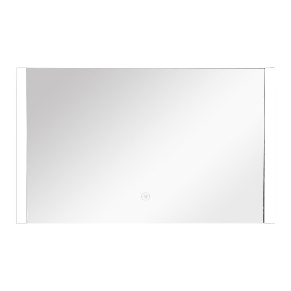 Ethan 47.24 in. x 24.02 in. Single Frameless LED Mirror
