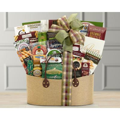 Gourmet Choice Wholesome Food Gift Basket