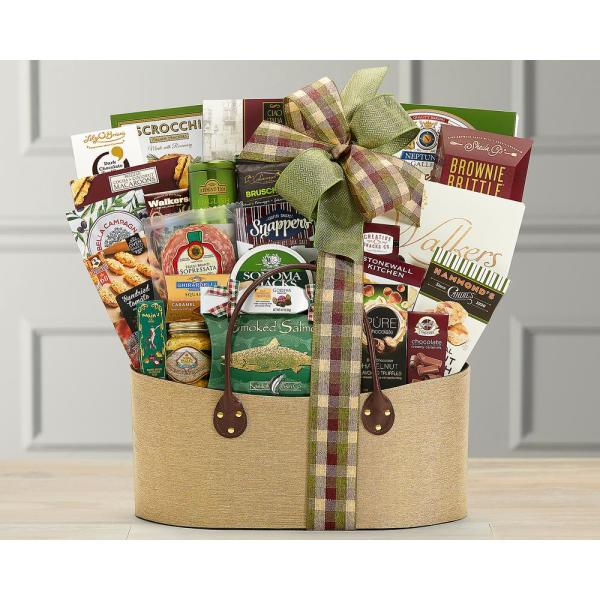 Wine Country Gift Baskets Gourmet Choice Wholesome Food Gift Basket 605