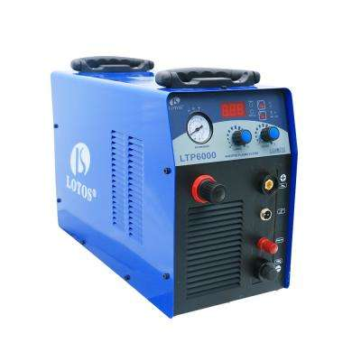 60 Amp Non-Touch Pilot Arc IGBT Inverter Plasma Cutter for Metal, 220V, 3/4 Inch Clean Cut