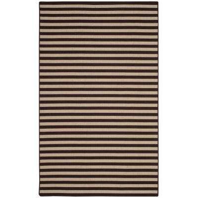 Four Seasons Ivory/Brown 6 ft. x 9 ft. Area Rug
