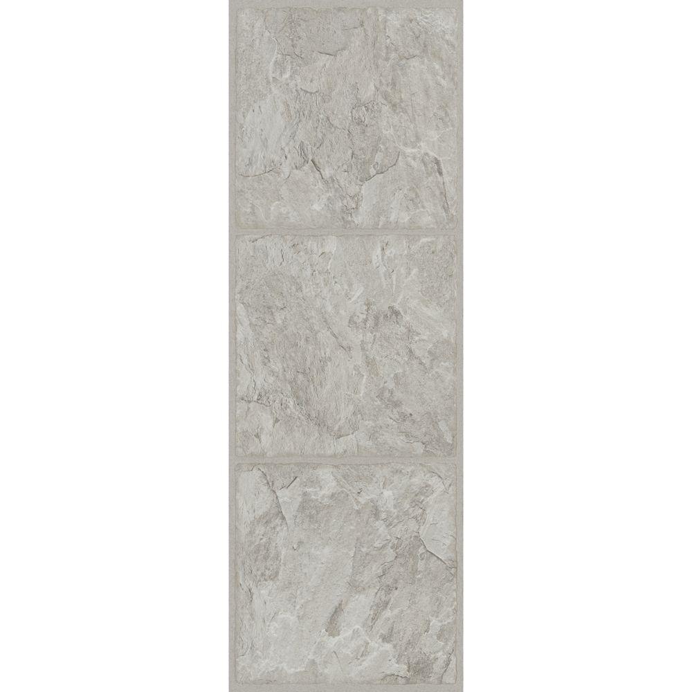 TrafficMASTER Allure 12 in. x 36 in. Shale Grey Luxury Vinyl Tile Flooring (24 sq. ft. / case)