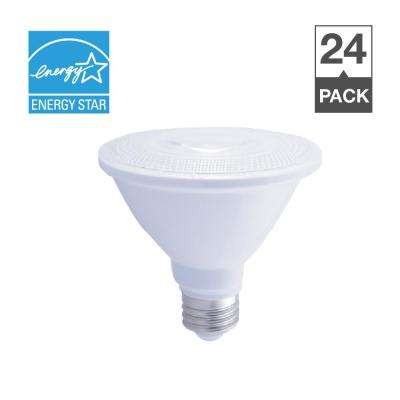 75-Watt Equivalent R30 Dimmable Short Neck Wet Location ENERGY STAR LED-Light Bulb Soft White (24-Pack)