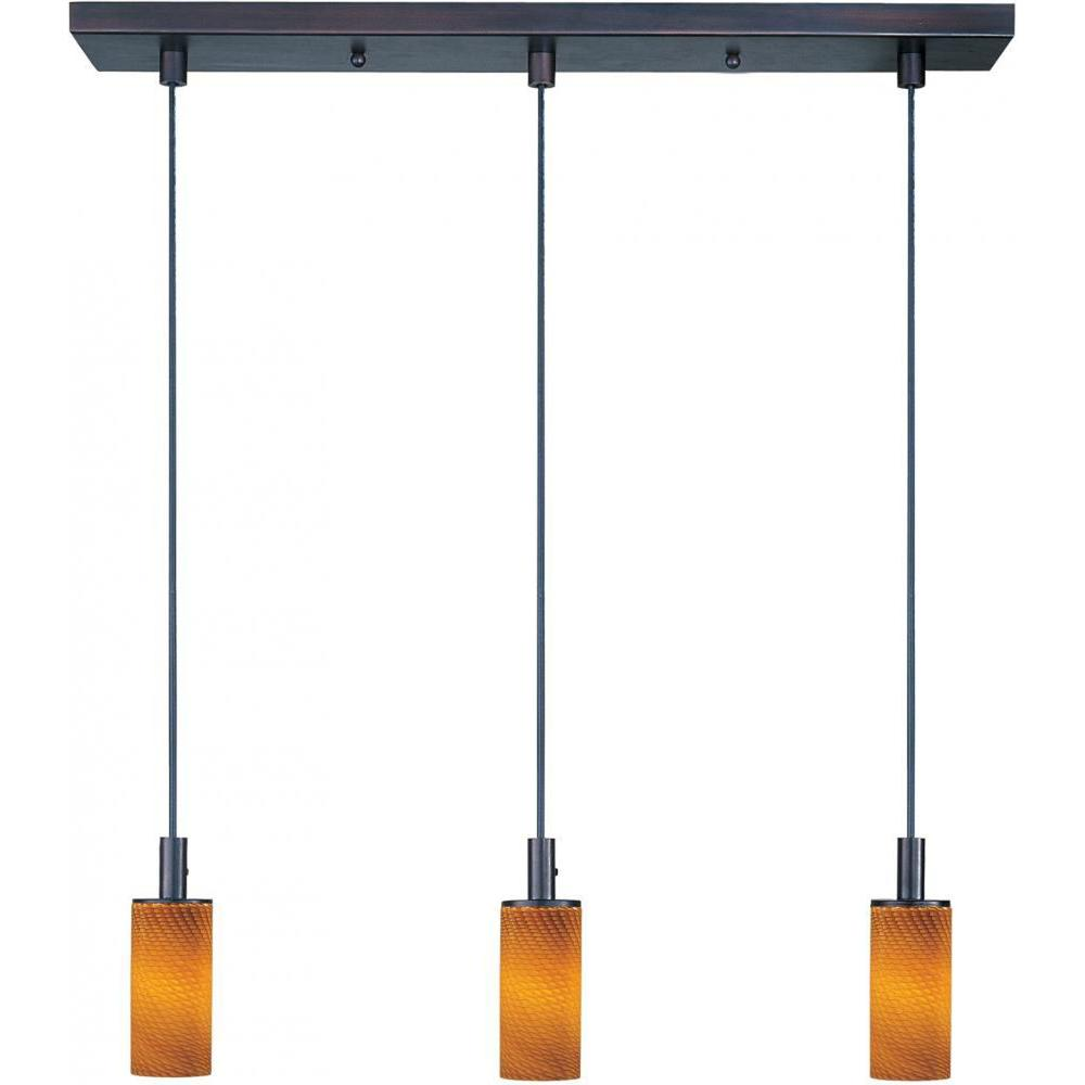 Filament Design Coit 3-Light Bronze Pendant