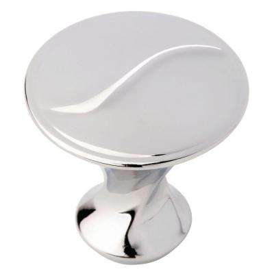 Vuelo 1-1/8 in. (28mm) Polished Chrome Round Cabinet Knob