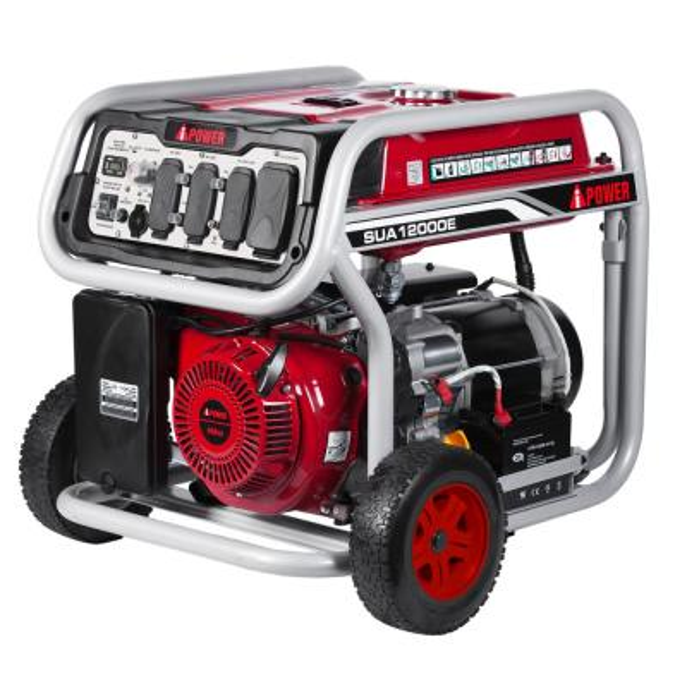 Generac 8,000-Watt Gasoline Powered Electric Start Portable